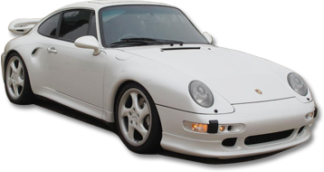 whitw Porche car